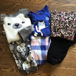 Girls pajama bundle.